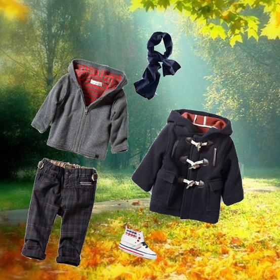 Как одеться осенью мальчику