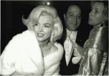 Мерилин Монро фото меха бриллианты