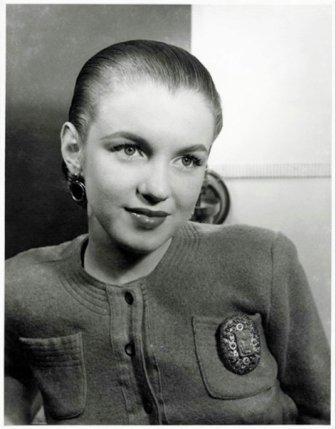 Мерилин Монро фото без волос