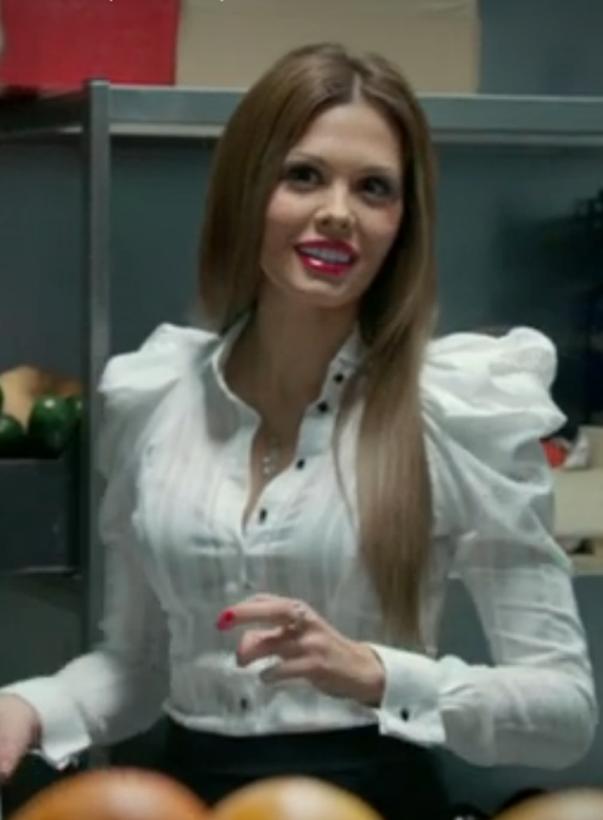 макияж марии горбань в сериале кухня